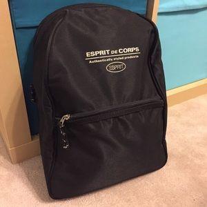 Esprit de Corps black small backpack